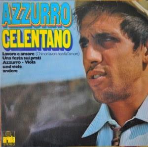 ADRIANO CELENTANO - AZZURRO ALBUM LYRICS