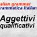 Italian descriptive adjectives – aggettivi qualificativi