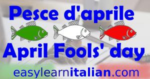 pesce aprile - april fool's day